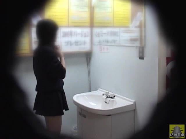 GAL接写トイレ