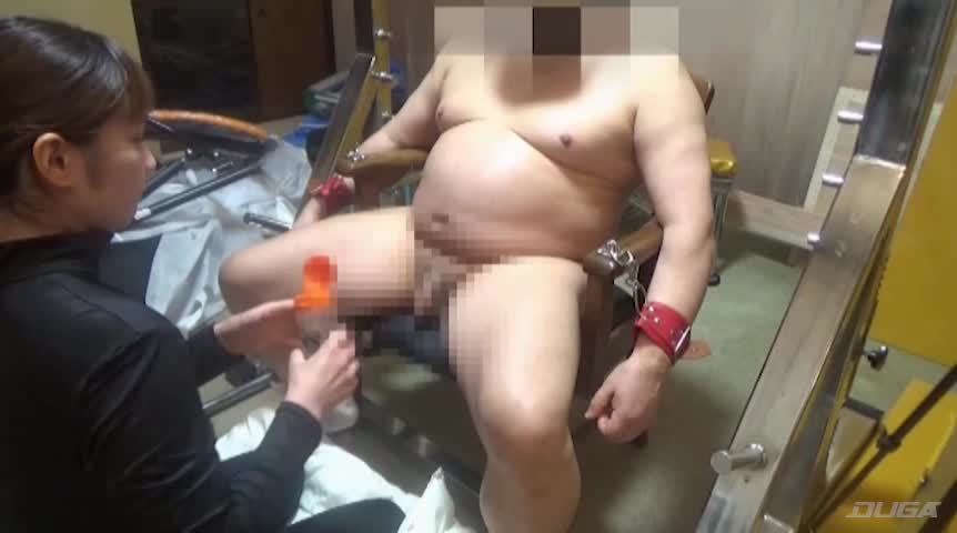 超残酷人体実験M男拘束90分連続鬼フェラチオ21回連続強制射精の刑
